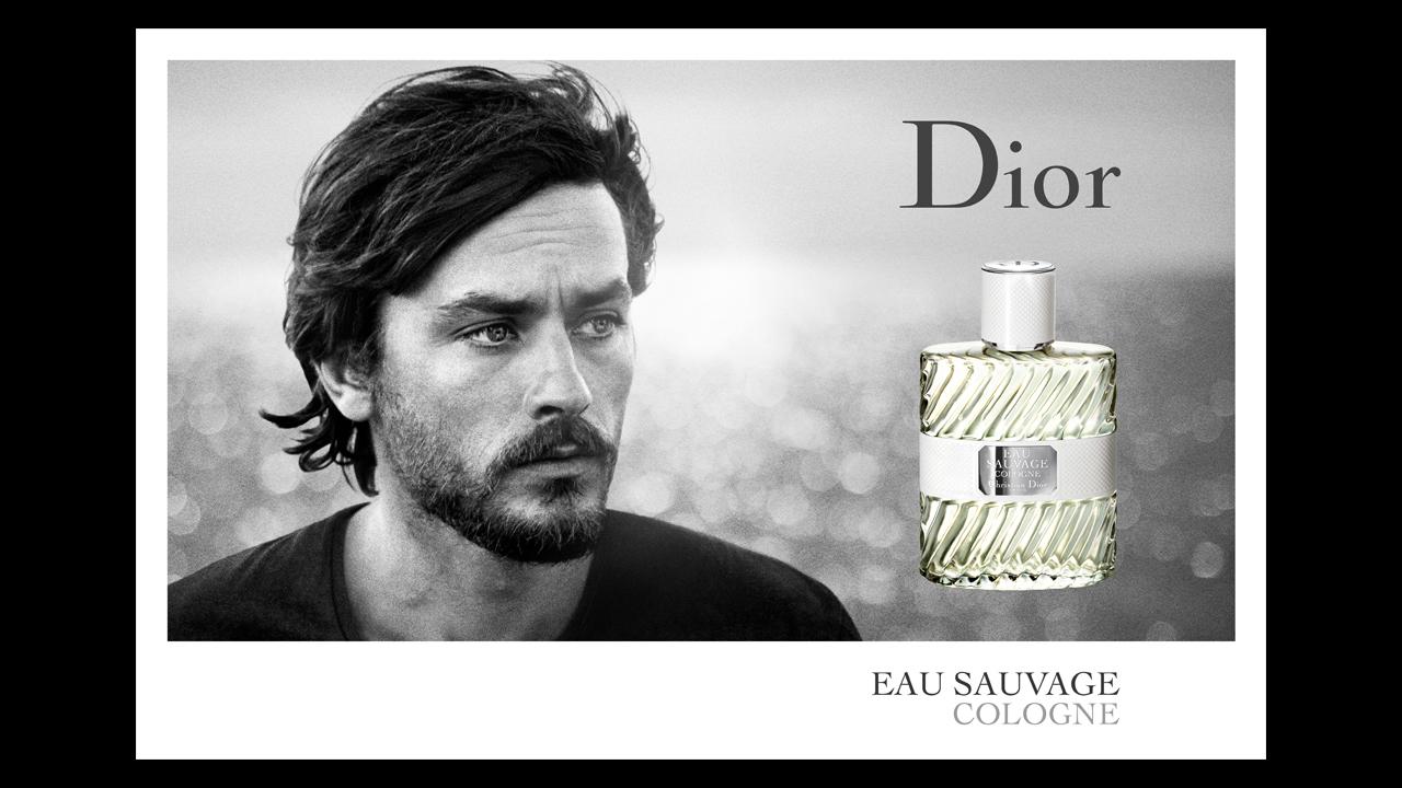 Parfums-Dior-Campagne-publicitaire-Eau-Sauvage-Alain-Delon