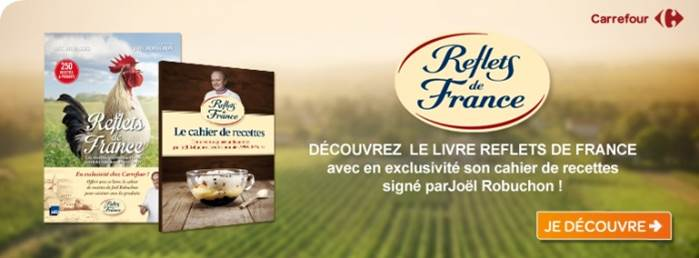 Livre Reflets de France
